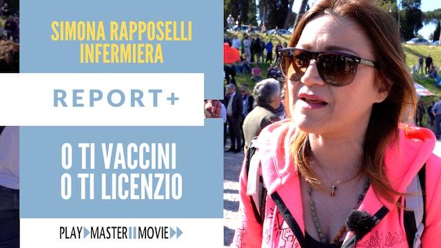 O ti vaccini o ti licenzio - Simona Rapposelli infermiera
