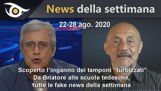 "SCOPERTO L'INGANNO DEI TAMPONI ""TURBI..."