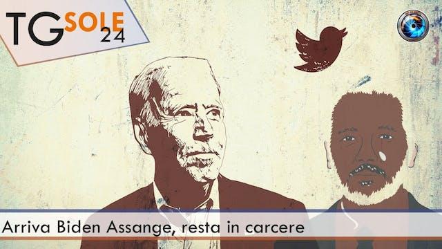TgSole24 20.01.21 | Arriva Biden, Ass...