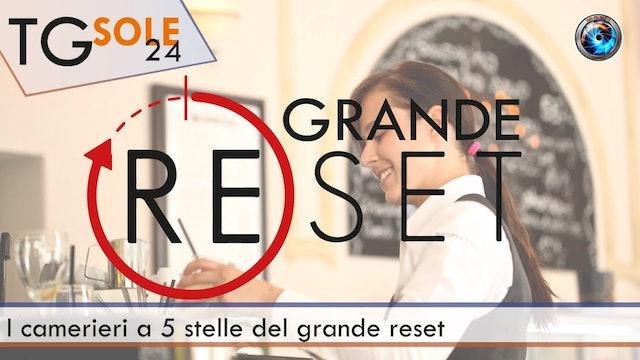 TgSole24 08.03.21 | I camerieri a 5 stelle del grande reset