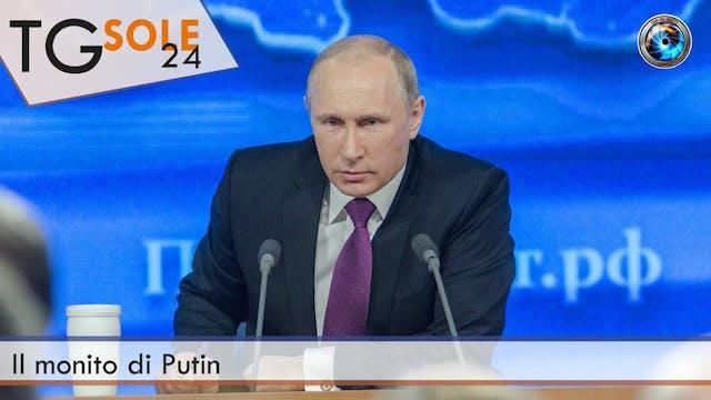 TgSole24 27.01.21 | Il monito di Putin