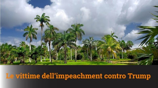 16-2-2021 Le vittime dell'impeachment...