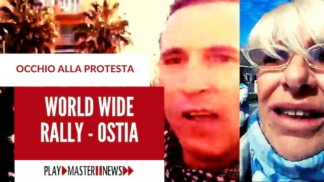 Ostia, Roma – 20 marzo 2021 – Manifestazione World Wide Rally