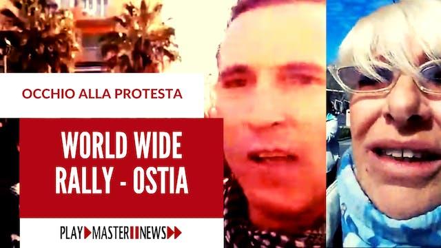 Ostia, Roma – 20 marzo 2021 – Manifes...