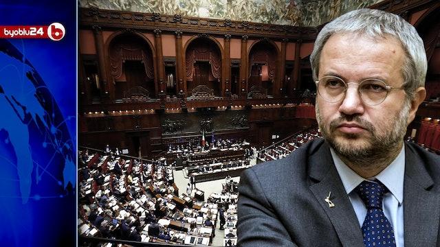 TRADISCA IL TRICOLORE E SAREMO IMPLACABILI - La risposta di Borghi a Draghi