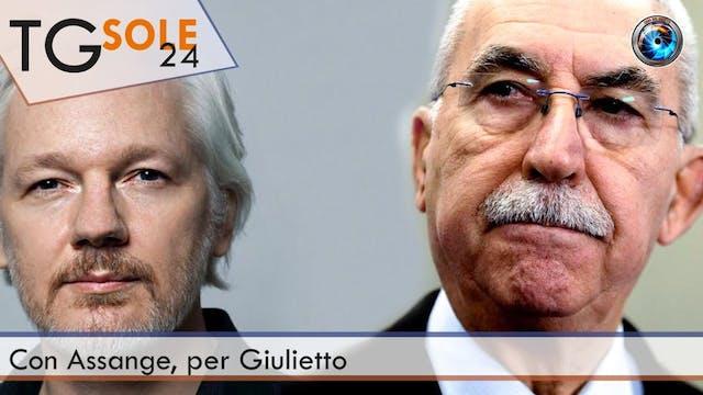 TgSole24 14.12.20 | Con Assange, per ...