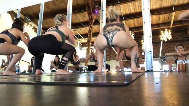 LIVE BUTI 33 workout with Bizzie Gold at ZenDen