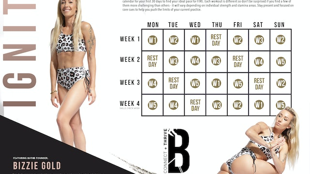 Fire Series by Buti Calendar