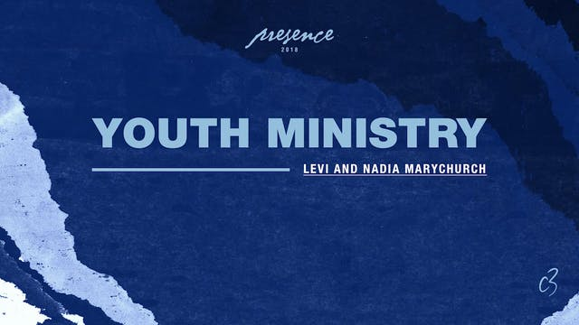 Master Classes 2018 - Youth Ministry