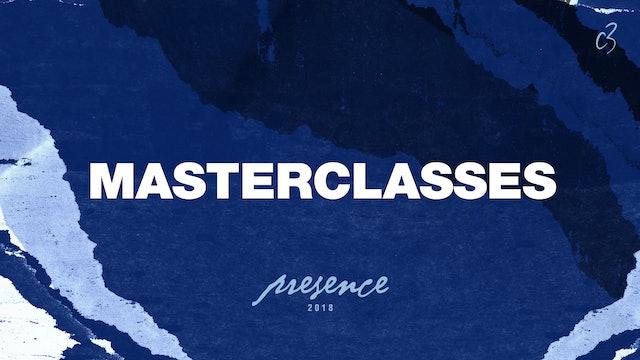 Master Classes, 2018