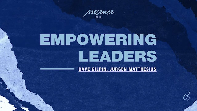 Master Classes 2018 - Empowering Leaders