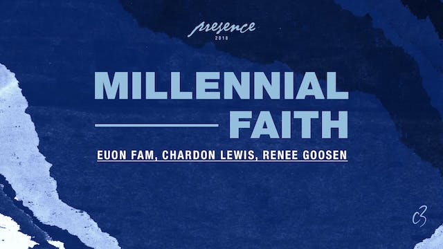 Master Classes 2018 - Millenial Faith