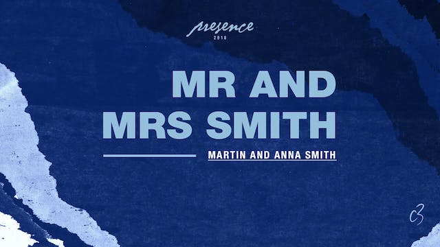 Master Classes 2018 - Mr and Mrs Smith