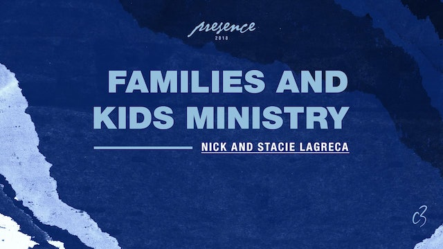 Master Classes 2018 - Kids and Families Ministry