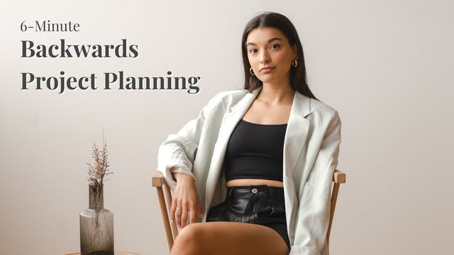 Backwards Project Planning