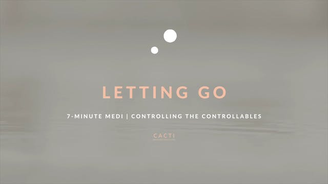 7-Minute Meditation for Releasing Con...