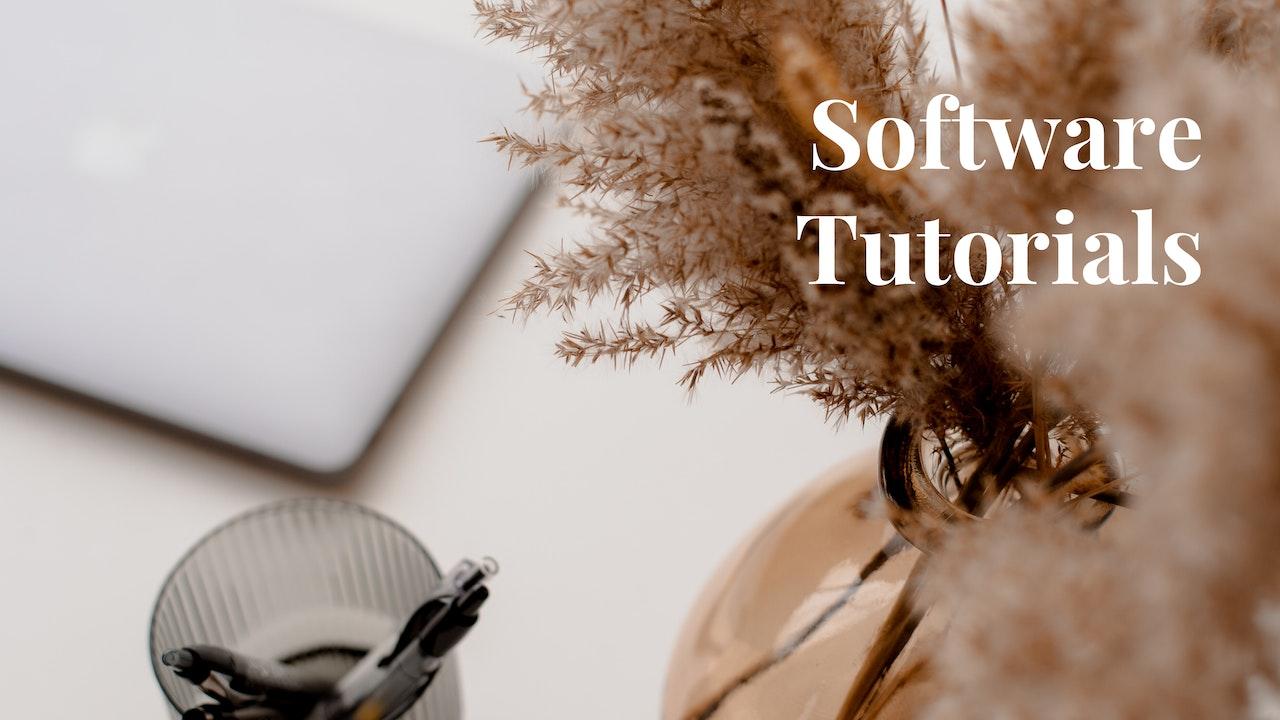 Software Tutorials