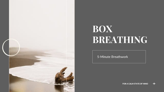 5-Minute Box Breathing