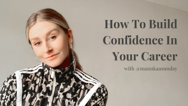 Building Professional Confidence with...