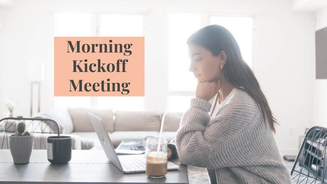 How To Start The Workday