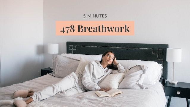 5-Minute 478 Breathwork