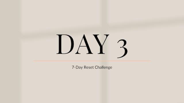 Day 3: Dream