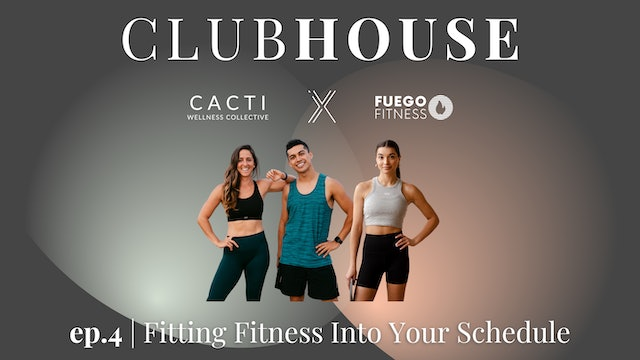 FITTING IN FITNESS | Clubhouse 4