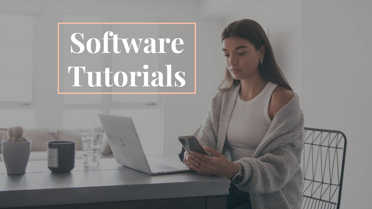 Software Tutorials