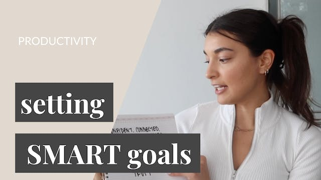 Setting SMART Goals for 2021