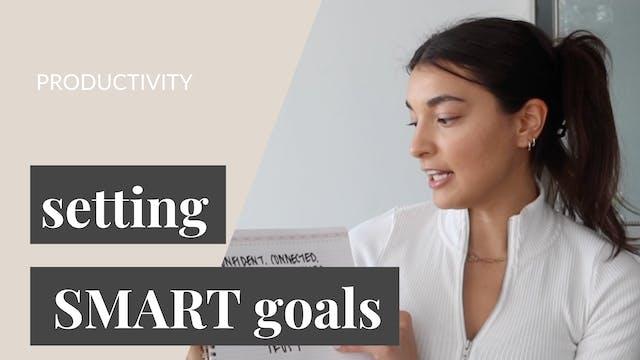 Setting SMART Goals for 2021