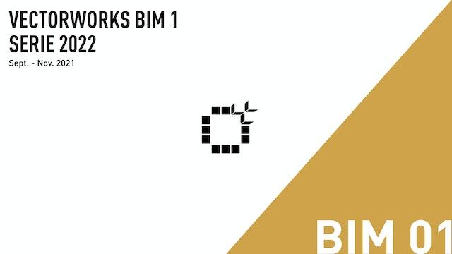 Vectorworks BIM 01 2022