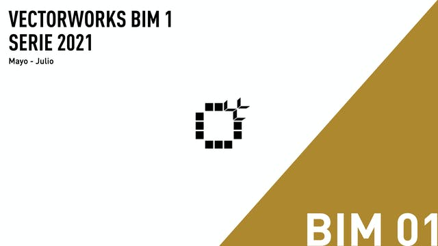 Vectorworks BIM 1 - 2021 - 02
