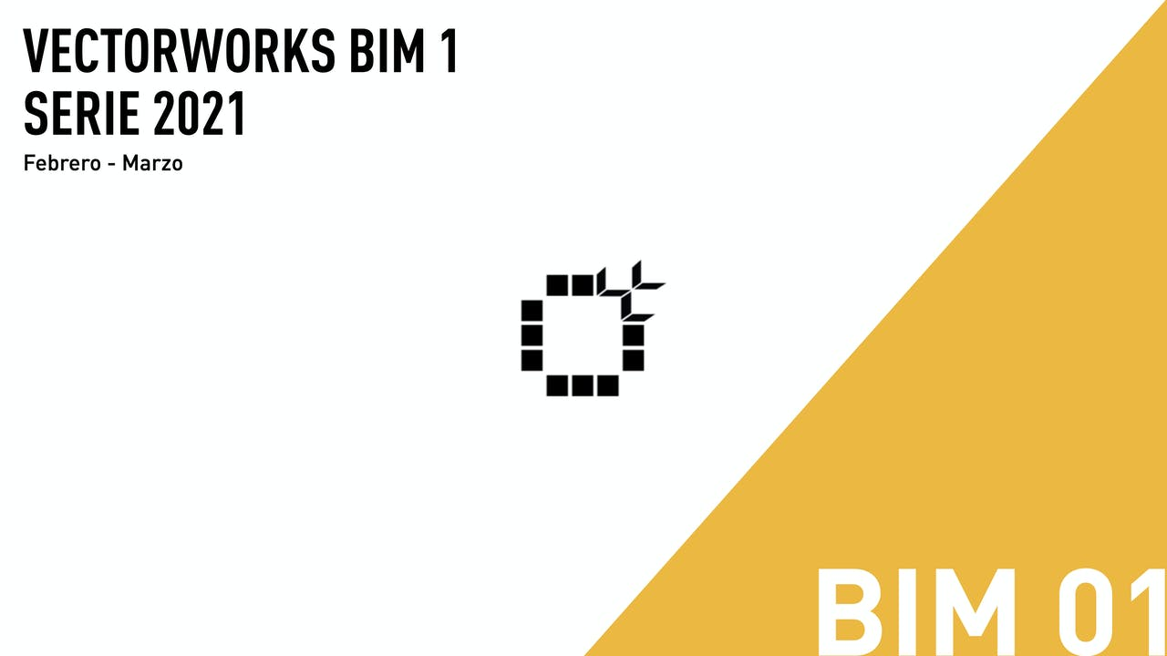 Vectorworks BIM 1 - 2021