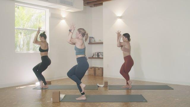 Yoga - Ladder Flow with Ashley