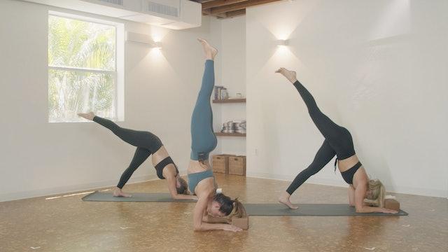 Yoga - Forearm Stand Flow with Jamie