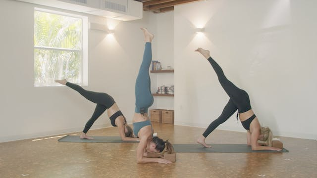 Yoga - Forearm Stand Flow with Jamie