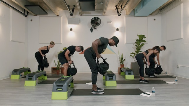HIIT - Arms and Abs + At Home Supplies with Reggie