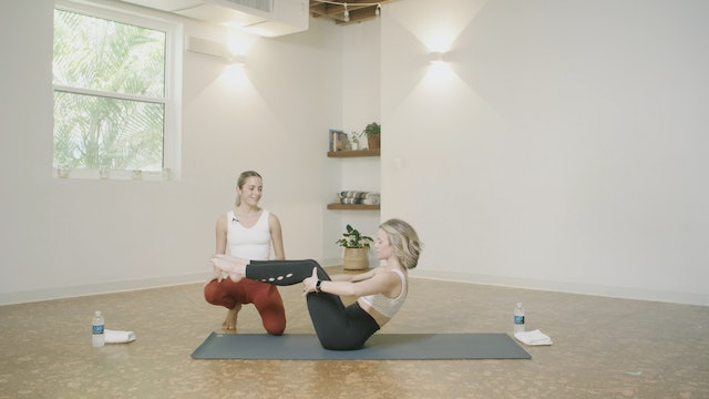 Pilates 101 - Part 1 with Amanda