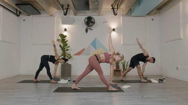 HIIT - Yoga Blend with Erinn and Leigh