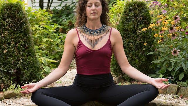 Pranayama & meditation: Upper retenti...