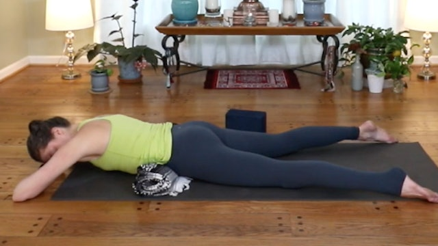 Yin for Digestion and Low Back