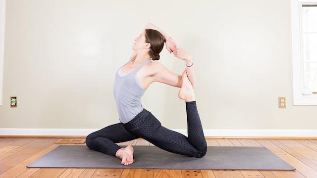 Supple hip flow