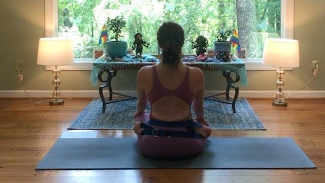 Baddha Pādmāsana & Yoga Mūdra