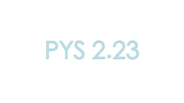 Yoga Sutra 2.23