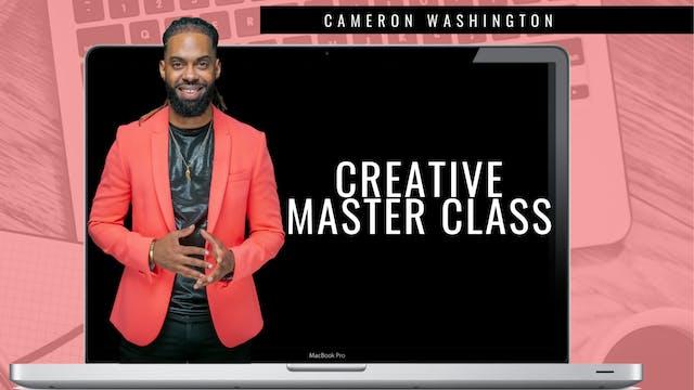 Creative Masterclass | Content Creation