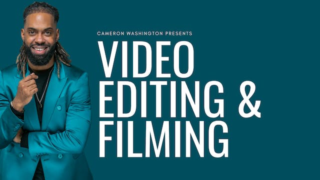 Video Filming & Editing Master Class ...