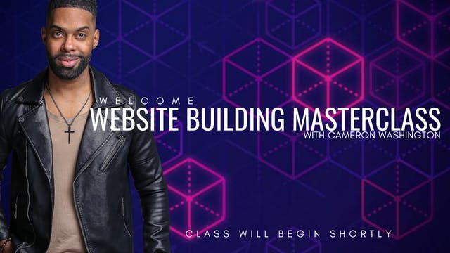 Website Masterclass with Cameron Wash...