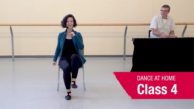 Dance At Home • In Your Seat • Autumn 2021 • Class 4
