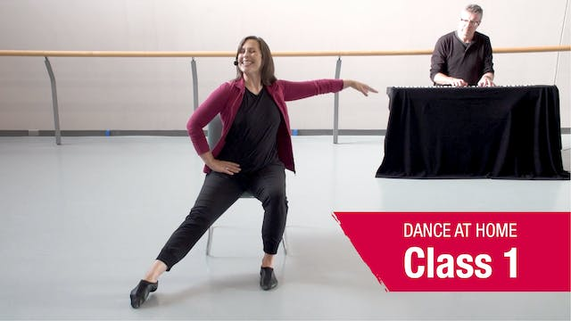 Dance At Home • In Your Seat • Autumn 2021 • Class 1