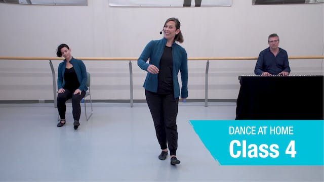 Dance At Home • On Your Feet • Autumn 2021 • Class 4